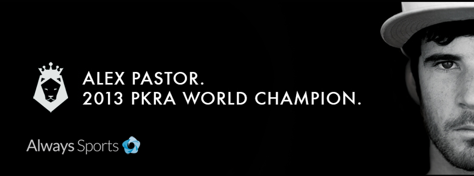 Alex Pastor 2013 PKRA World Champion